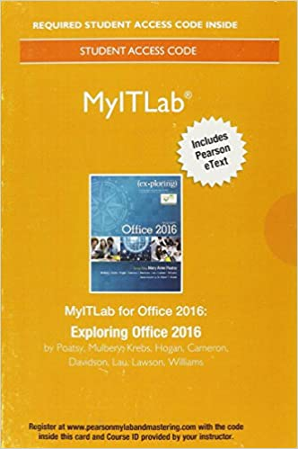 Myitlab with pearson etext access card for exploring microsoft myitlab with pearson etext access card for exploring microsoft office 2016 1st edition fandeluxe Image collections