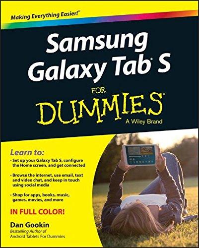 Samsung Galaxy Tab S For Dummies (Samsung Dummy)