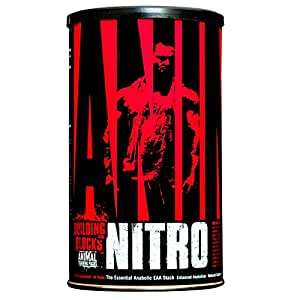 Animal Nitro - Essential Animo Acids with BCAA Supplement - Recover and Grow Muscle - Turn Your Muscles Anabolic After Your Workout - 44 Packs
