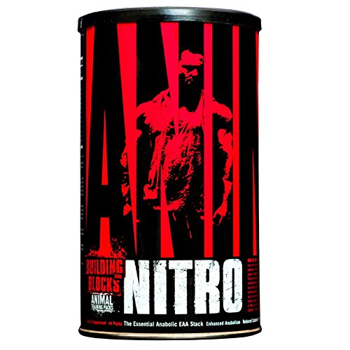 Animal Nitro - Essential Animo Acids with BCAA Complex - Recover and Grow Muscle - Turn Your Muscles Anabolic After Your Workout - 44 Packs