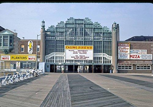Roadside America Photo Collection | 1978 Boardwalk Casino, Asbury Park, New Jersey 2 | Photographer: John Margolies | Historic Photographic Print