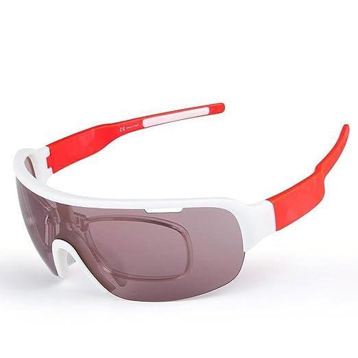 opel-r Modische Outdoor-Bike Ride in Polarisierte Sonnenbrille/TR90Material resistent gegen Impact Sport-Brillen/enthält Fünf Objektive, days blue