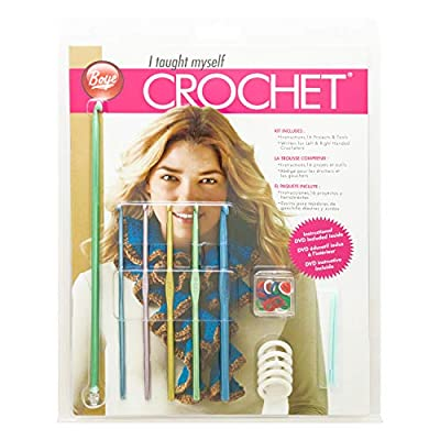 Simplicity Creative Group, Inc 3626397000M I Taught Beginner's Kit with Crochet Needles