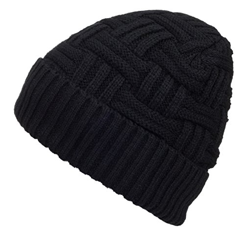Spikerking Mens Winter Knitting Wool Warm Hat Daily Slouchy Beanie Skull Cap ...
