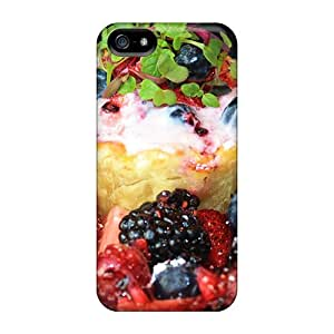 Ideal DeannaTodd Cases Covers For Iphone 5/5s(whipped Cream Berries), Protective Stylish Cases