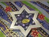 Diabetic Candy Jewish Star of David Gift Box Milk Chocolate Cordial Cherries Sugar Free Chanukah