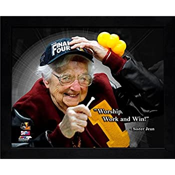 Amazon.com: Sister Jean Loyola Ramblers Pro Quotes Photo