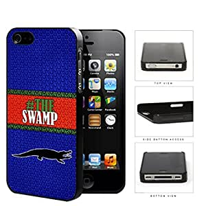 Hashtag The Swamp School Spirit Slogan Chant iPhone 4 4s Hard Snap on Plastic Cell Phone Cover