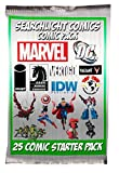 Searchlight Comics 25 Comic Book Collector Starter Set + Bonus Sticker