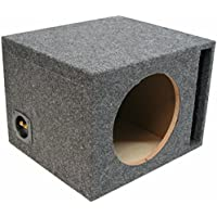 ASC Single 12 Subwoofer Universal Fit Vented Port Sub Box Speaker Enclosure