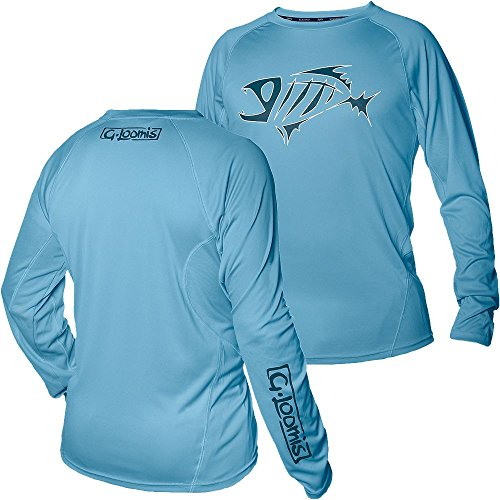 G. Loomis URSO Tech Long Sleeve Shirt - Light Blue - XL