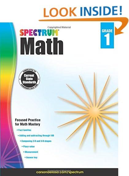 Math Grade 1: Amazon.com