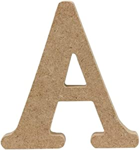 4 Inch High Decorative Wood Letters, Hanging Wall 26 Letters Wooden Alphabet Wall Letter for Children Baby Name Girls Bedroom Wedding Brithday Party Home Decor-Letters