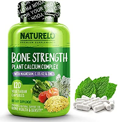 Amazon.com: NATURELO Bone Strength – Calcio, magnesio ...
