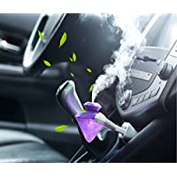 WQWLd Mini USB Portable Detachable Travel Home/Car Diamond Shape Air Humidifier Atomizer Aroma Diffuser Purifier With LED Night Colourful Light (Purple)