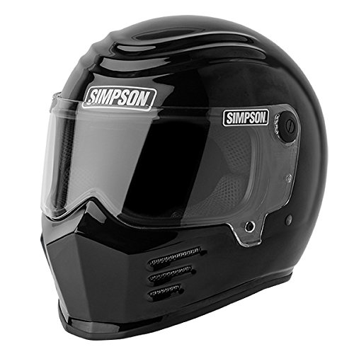Simpson 28215XL2 Outlaw Bandit Helmet M2015 XL Black
