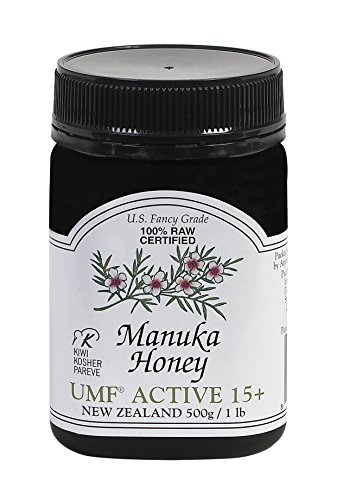 Pacific Resources Manuka Honey UMF 15+, 500g (1.1lbs)