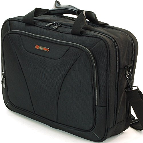 Business Laptop Overnight Case - Alpine Swiss Cortland 15.6