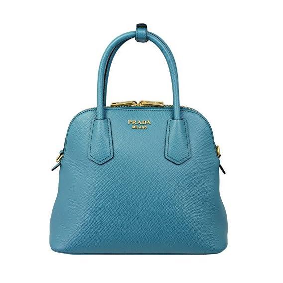 d1924bb851d1 Prada Blue Hand Bag Saffiano Leather Laguna – Birkin Bag For Sale