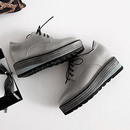 Ville Baskets silver Plateformes en de Creepers A0902 Créative WSXY Série à KJJDE Chaussures Femme Chaussures qA8wfa7n
