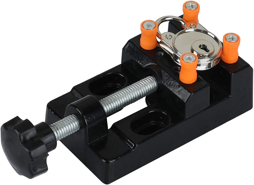 1x DIY Jaw Bench Clamp Drill Press Vice Opening Parallel Mini Table Vise
