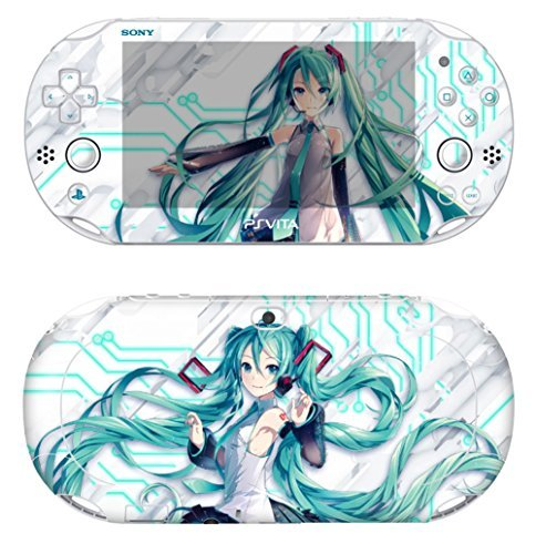 Cheap Hatsune Miku Skin Decals Stickers PlayStation VITA Slim 2nd Generation PCH-2000 Series Consoles