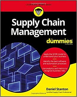 Amazon supply chain management for dummies for dummies amazon supply chain management for dummies for dummies business personal finance 9781119410195 daniel stanton books fandeluxe Choice Image