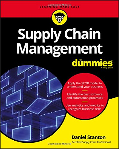 Supply Chain Management For Dummies  For Dummies  Business   Personal Finance