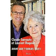 Avant que t'oublies tout ! (French Edition)