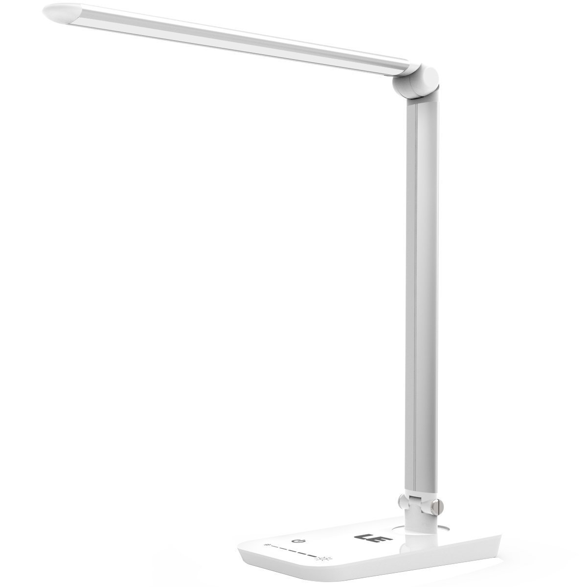 LE LED Desk Lamp, 8W Table Lamps, 7-Level Brightness Dimmable, Eye-care Touch Sensitive Control Foldable Bedroom Reading Lights [Energy Class A+] Lighting EVER