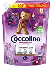 Coccolino Wasverzachter concentraat orchidee violet & cranberry in zak 600 ml