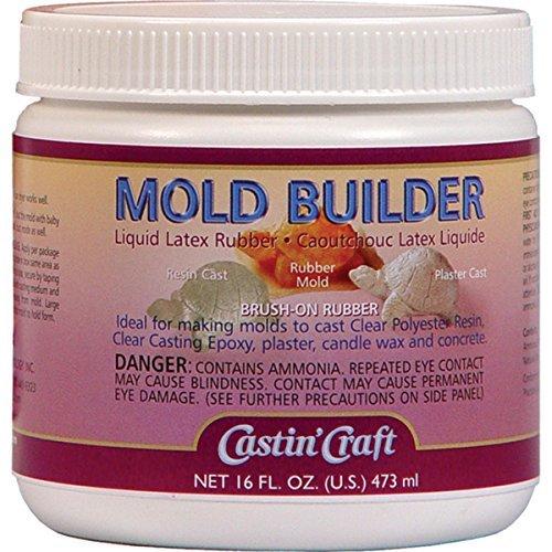 Mold Builder Liquid Latex 16 Oz by Environmental Tech.