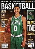 New Current Beckett Basketball Monthly Price Guide Card Value Magazine November 2017 Jayson Tatum Boston Celtics