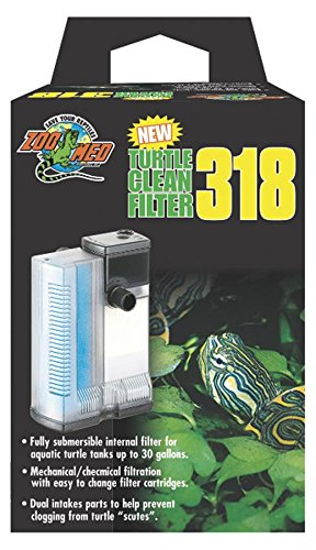 Reptile Filter - Zoo Med Turtle Clean 318 Submersible Filter