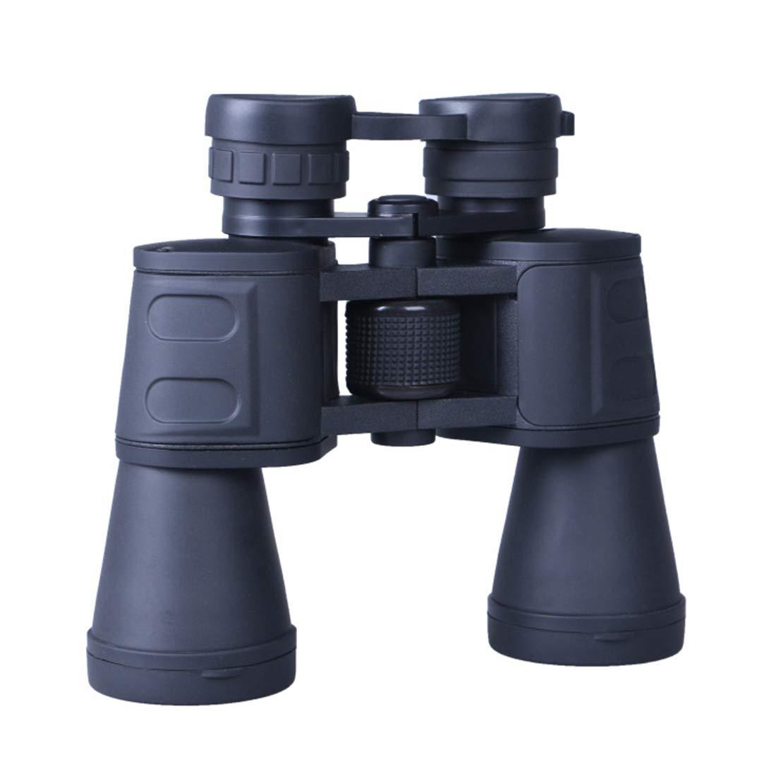 FELICIOO Telescopio visión de visión Telescopio Nocturna con poca luz portátil de Alta Potencia al Aire Libre de los prismáticos 10  50 para el Uso al Aire Libre (Color : Negro) 6c17e8