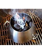 Dracarys BBQ Vortex Weber 22 - Hervidor de Agua para Barbacoa (Acero Inoxidable)