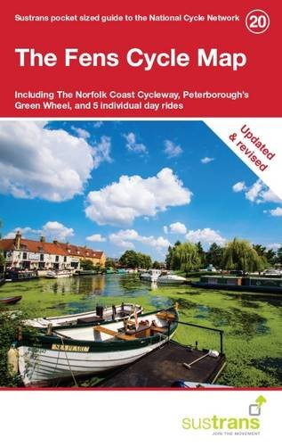 The Fens Cycle Map: Including the Fenland Trail, the Fens Cycleway, Peterborough's Green Wheel, and 5 Individual Day Rides pdf