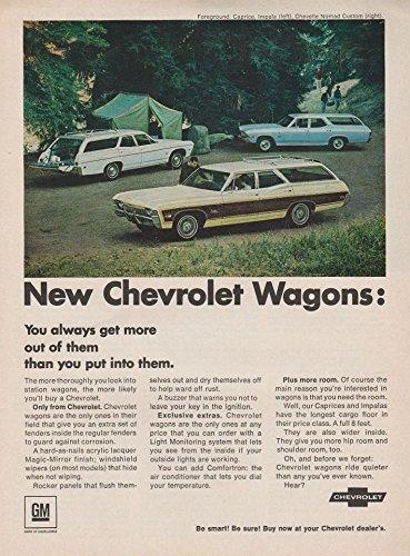 - 1968 CHEVROLET CAPRICE, IMPALA & CHEVELLE NOMAD STATION WAGONS