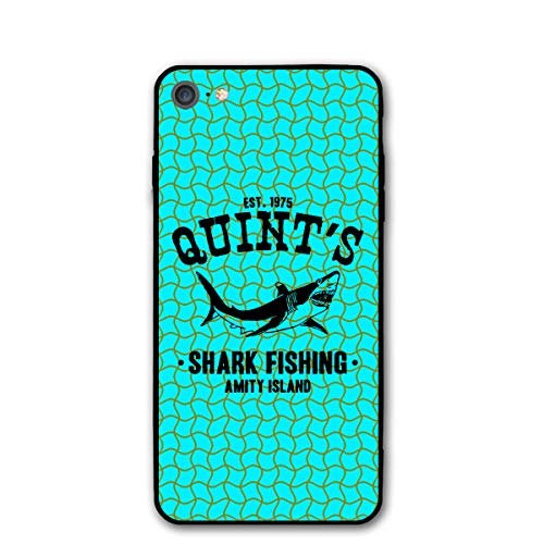 iPhone 8 Case, Quint's Shark Fishing,4.7 Inches Unisex Case for iPhone 7 (2016) / iPhone 8 (2017) -