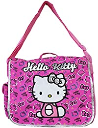 Sanrio's Hello Kitty Deep Pink Music Note and Hairbow Themed Messenger Bag