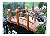 8 ft. Curved Span Bridge w Double Rail (Sealed Curved Double Rail)