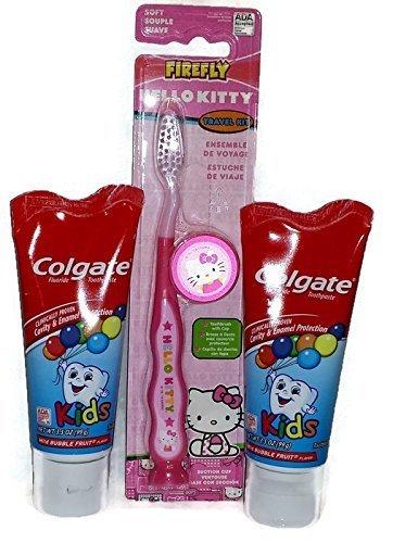 Amazon.com: Hello Kitty Toothbrush and Kids Colgate ...