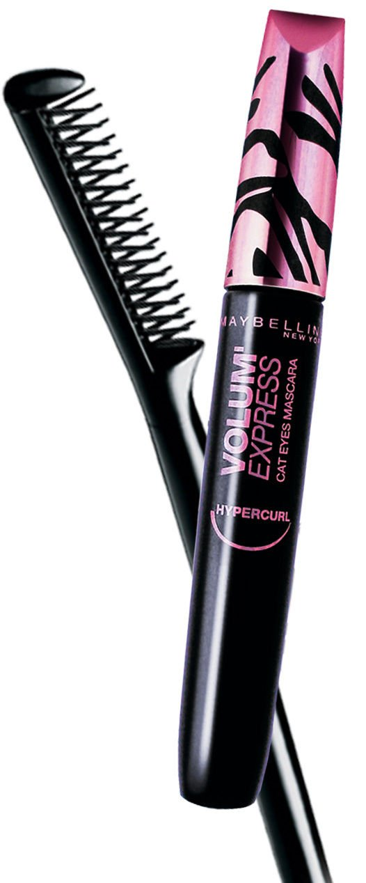 MAYBELLINE MASCARA VOLUME EXPRESS HYPERCURL BLACK 6.5ML.