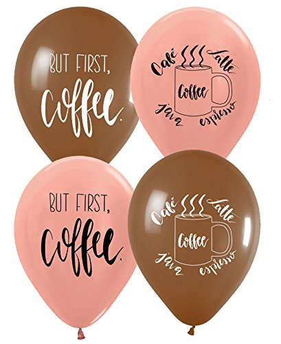 Coffee Balloons Coffee Theme Party Ideas Latex Balloons 10 -