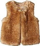 Chloe Kids Girl's Sleeveless Faux Fur Vest (Little Kids/Big Kids) Nude Outerwear