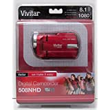 Vivitar DVR-508 High Definition Digital Video Camcorder, Colors May Vary w/Memory Card