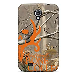 Samsung Galaxy S4 VVs9727wxAW Provide Private Custom HD Bone Collector Blaze Series Scratch Protection Cell-phone Hard Covers -AaronBlanchette