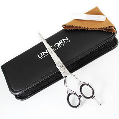 NEW ARRIVAL !! -Super Sharp Silver Professional Hair Cutting Shears/Barber Scissors + Attractive Case - 5.5