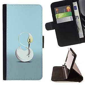 Momo Phone Case / Flip Funda de Cuero Case Cover - El Cisne - Samsung Galaxy A5 ( A5000 ) 2014 Version