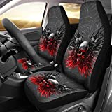 Pet Animal Designs Limited Edition-Gun and Skull Print Car Seat Covers